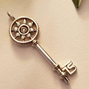 "Thomas Sabo ""Sweet Diamonds"" Key Pendant / Charm"
